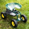 ArmPro-Garden-Cart-Rolling-Work-Seat-with-Tool-Tray-and-Storage-Basket-360-Degree-Swivel-Seat-300-Lbs-Weight-Capacity-0-2