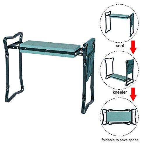 AyaMastro-193-H-Green-Garden-Kneeler-Foldable-Cushion-Knee-Pad-Seat-wTool-Bag-0-1