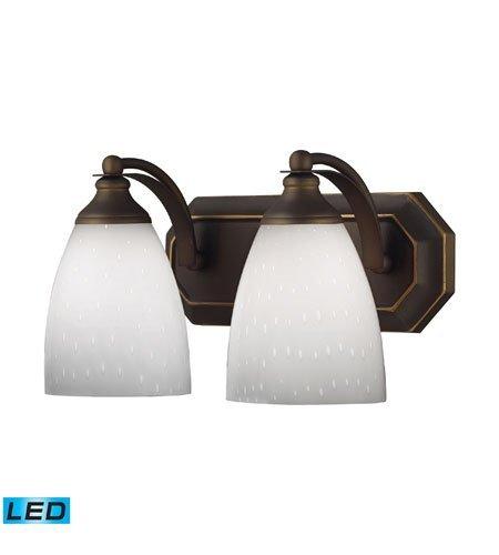 Bathroom-Vanity-2-Light-LED-with-Aged-Bronze-Finish-14-inch-27-Watts-World-of-Lamp-0-0