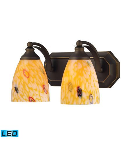 Bathroom-Vanity-2-Light-LED-with-Aged-Bronze-Finish-14-inch-27-Watts-World-of-Lamp-0