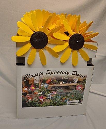 Beloit-Plastics-LLC-Classic-Spinning-Daisy-x6-case-SUNFLOWER-12-inch-dia-0-1