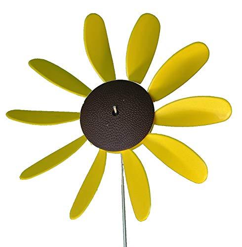 Beloit-Plastics-LLC-Classic-Spinning-Daisy-x6-case-SUNFLOWER-12-inch-dia-0