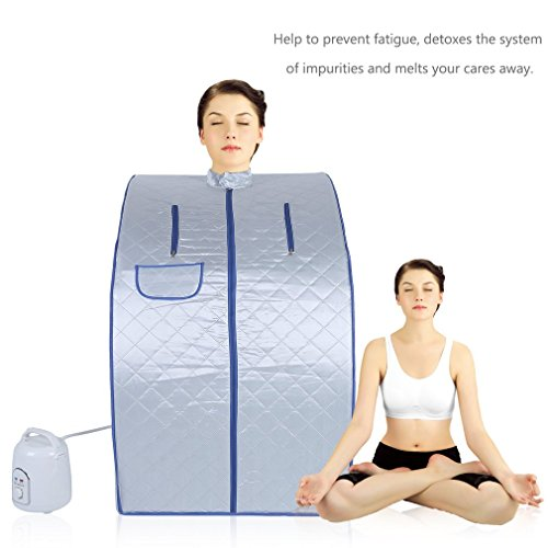 Belovedkai-Portable-Steam-Sauna-Home-Spa-Full-Body-Slimming-Loss-Weight-Detox-Indoor-Steam-Pot-Silver-0