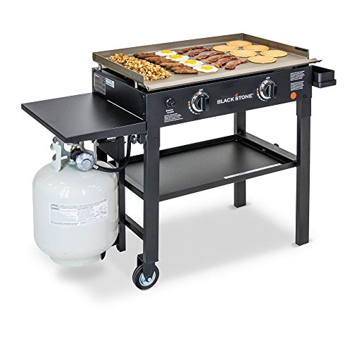 Blackstone-28-in-2-Burner-Propane-Gas-Grill-in-Black-with-Griddle-Top-0-0