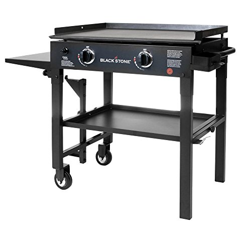 Blackstone-28-in-2-Burner-Propane-Gas-Grill-in-Black-with-Griddle-Top-0