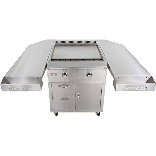 Blaze-30-Inch-Freestanding-Gas-Griddle-with-Shelf-Kit-BLZ-Griddle-LTE-NG-BLZ-Griddle-LTE-CART-Natural-Gas-0-1