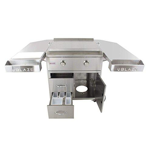 Blaze-30-Inch-Freestanding-Gas-Griddle-with-Shelf-Kit-BLZ-Griddle-LTE-NG-BLZ-Griddle-LTE-CART-Natural-Gas-0-2