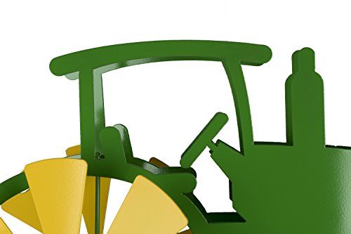 Blue-Luca-Inc-Tractor-Wind-Spinner-for-Yard-and-Garden-Powder-Coat-Finish-Made-in-USA-0-2
