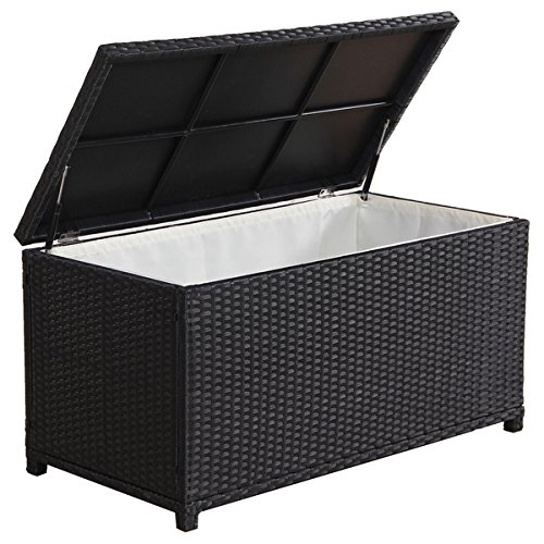 BroyerK-Outdoor-Black-Wicker-Cushion-Storage-Box-0