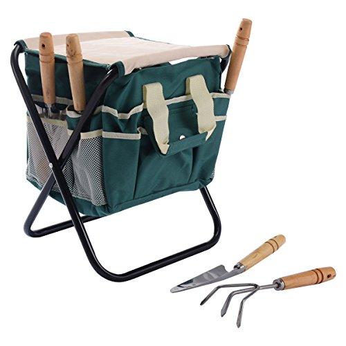 Buzzbuckkie-7-PCS-Garden-Tool-Bag-Set-Folding-Stool-Tools-Gardening-Stainless-Steel-Gift-0