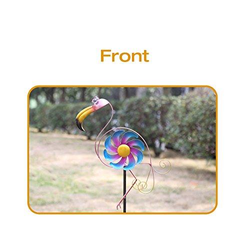 CEDAR-HOME-Wind-Spinner-Sculpture-Garden-Stake-Outdoor-Cute-Metal-Stick-Art-Ornament-Figurine-Decor-for-Lawn-Yard-Patio-2-set-0-1