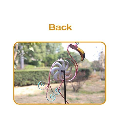 CEDAR-HOME-Wind-Spinner-Sculpture-Garden-Stake-Outdoor-Cute-Metal-Stick-Art-Ornament-Figurine-Decor-for-Lawn-Yard-Patio-2-set-0-2