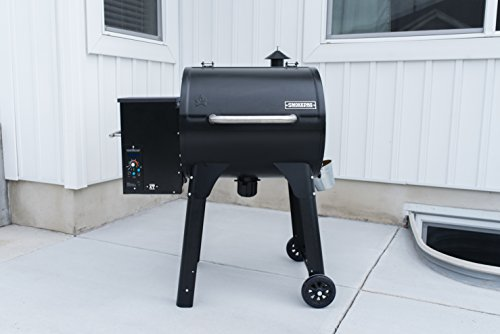 Camp-Chef-PG24XT-Smoke-Pro-Pellet-BBQ-with-Digital-Controls-and-Stainless-Temp-Probe-Smoker-Grill-Black-0-1