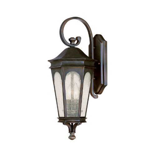 Capital-Lighting-9381OB-Outdoor-Wall-Lantern-with-Seeded-Glass-Shades-Old-Bronze-Finish-0