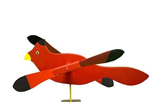 Cardinal-Whirligig-Whirly-Bird-Garden-Spinner-0