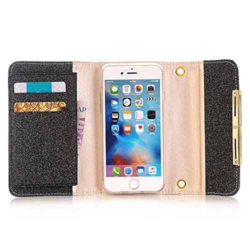 Case-Wallet-CoverMEILIIO-2-in-1-Glitter-Powder-Bling-PU-Leather-Flip-Zipper-Wallet-Cover-Cards-Slots-Lady-Multi-Envelope-Wristlet-HandBag-0-0