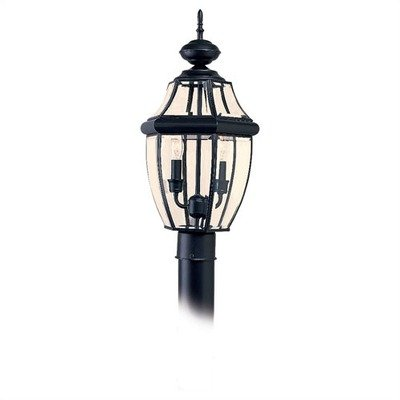 Classic-Outdoor-Post-Lantern-in-Black-0