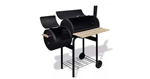 Comfyleads-Classic-Charcoal-BBQ-Offset-Smoker-Durable-New-41-x-23-x-45-0-0