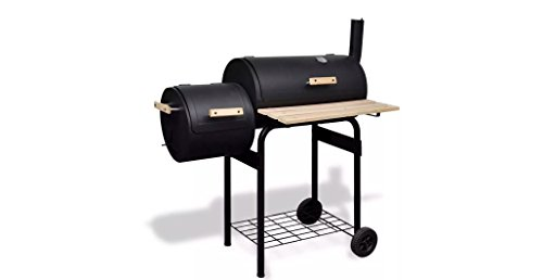 Comfyleads-Classic-Charcoal-BBQ-Offset-Smoker-Durable-New-41-x-23-x-45-0