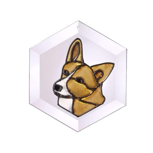 Corgi-Painted-Glass-Suncatcher-Ew-183-0