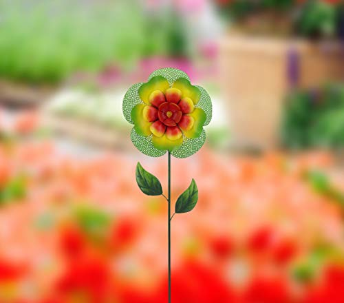 Creative-Motion-14282-8-Metal-Garden-Stake-9875-x-2-x-3625-H-Multi-Color-0-1