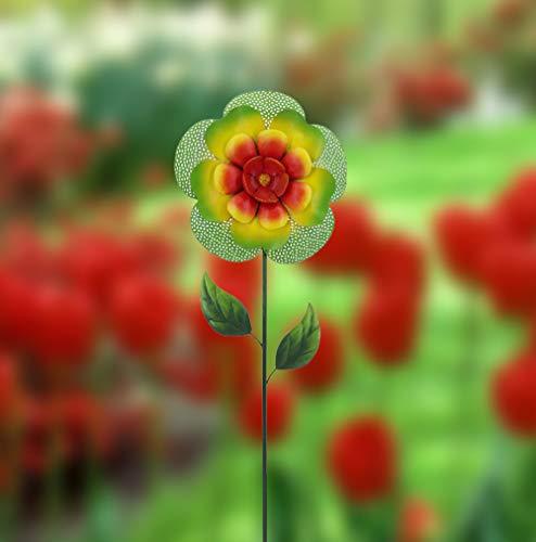Creative-Motion-14282-8-Metal-Garden-Stake-9875-x-2-x-3625-H-Multi-Color-0-2