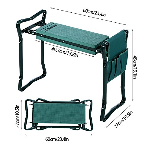 Creine-Folding-Garden-Kneeler-Bench-Seat-Portable-Foldable-Kneeling-Stool-Bench-Chair-with-Tool-Pouch-Soft-Foam-Kneeling-Pad-for-Home-Garden-Patio-Backyard-US-STOCK-0-1