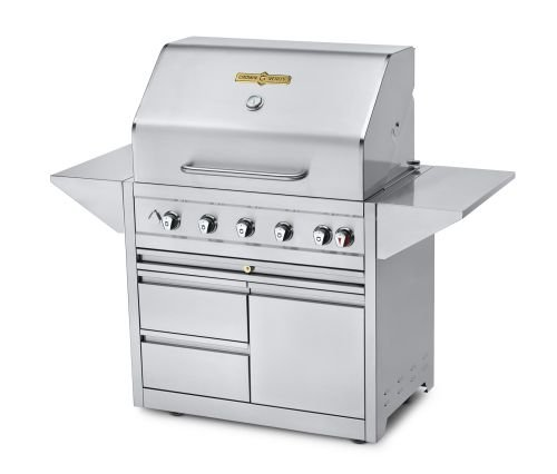 Crown-Verity-Estate-Elite-36-Double-Drawer-Cart-Grill-Propane-0