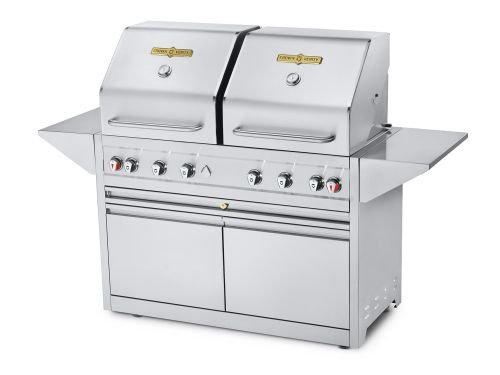 Crown-Verity-Estate-Elite-48-Cart-Dual-Lid-Grill-Propane-0