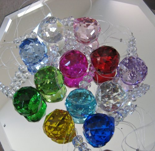 Crystal-Prism-Ornament-Set-a-Dozen-40mm-Ball-Spheres-Beaded-and-Ready-to-Hang-Great-for-Office-Decoration-0