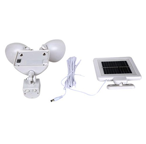 Dual-Light-Security-Solar-Motion-Sensor-22-LED-Lumens-Outdoor-Post-Garden-Floodlight-White-0-2