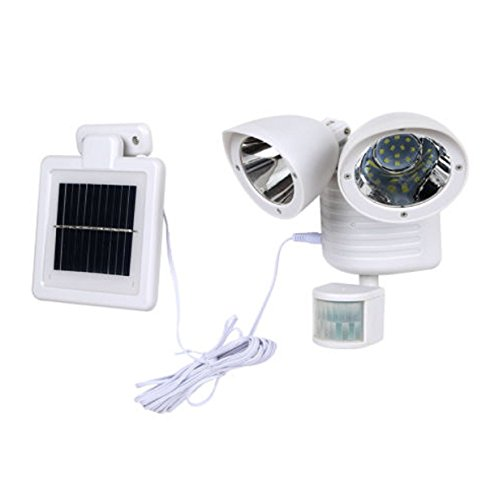 Dual-Light-Security-Solar-Motion-Sensor-22-LED-Lumens-Outdoor-Post-Garden-Floodlight-White-0