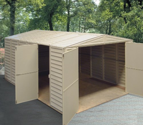 Duramax-01014-Vinyl-Garage-Shed-with-Foundation-and-Window-10-by-155-Inch-0-2