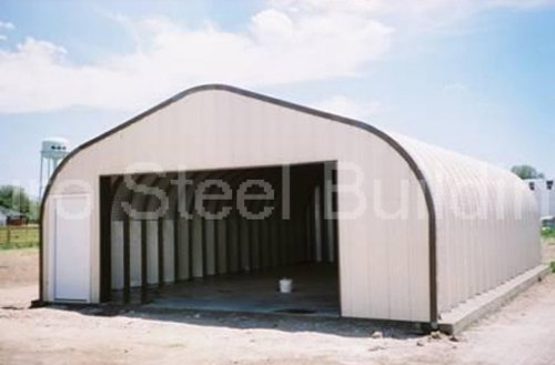Duro-Span-Steel-G20x24x12-Metal-Building-Kit-Factory-Direct-New-DIY-Arch-Carport-Drive-Through-Shed-0-0