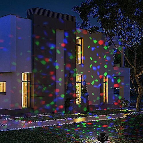 Christmas Projector Lights.Eleoption Christmas Projector Light Indoor Outdoor Red Green Blue Rgb Moving Star Starry Light Show Projector Led For Halloween Christmas Party