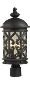 ELK-420642-Tuscany-Coast-Cast-Aluminum-Outdoor-Post-Lighting-40-Watts-Weathered-Charcoal-0