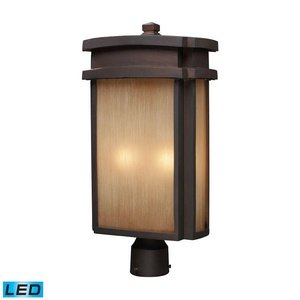 ELK-421442-LED-Sedona-Outdoor-Post-Lighting-LED-Clay-Bronze-0