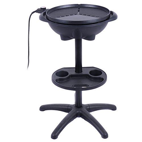 Electric-BBQ-Grill-1350W-Non-stick-4-Temperature-Setting-Outdoor-Garden-Camping-0-0