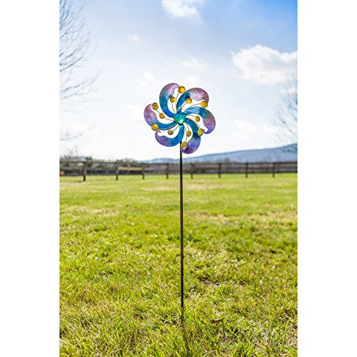 Evergreen-Garden-Infinite-Circles-48-inch-Metal-Kinetic-Garden-Spinner-0-0