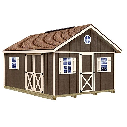 Fairview-12-ft-x-16-ft-Wood-Storage-Shed-Kit-with-Floor-Including-4-x-4-Runners-0