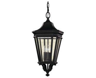 Feiss-OL5411BK-LED-Cotswold-Lane-LED-Outdoor-Lighting-Pendant-Lantern-Black-1-Light-10-W-x-22-H-0-0