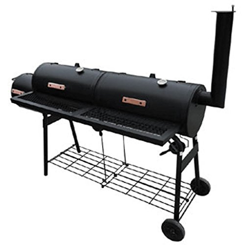 Festnight-Offset-Smoker-BBQ-Nevada-Black-0