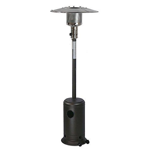 GHP-200-Sq-Ft-Range-4800-BTU-Max-Piezo-Ignition-Mocha-Standing-Propane-Patio-Heater-0-0