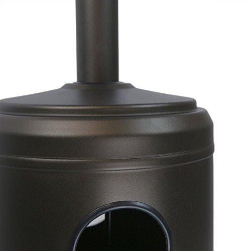 GHP-200-Sq-Ft-Range-4800-BTU-Max-Piezo-Ignition-Mocha-Standing-Propane-Patio-Heater-0-1