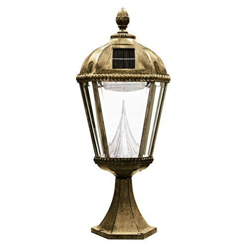 Gama-Sonic-Royal-Solar-Lamp-Post-and-Single-Lamp-LED-Light-Fixture-87-Inch-Height-GS-98S-0-1