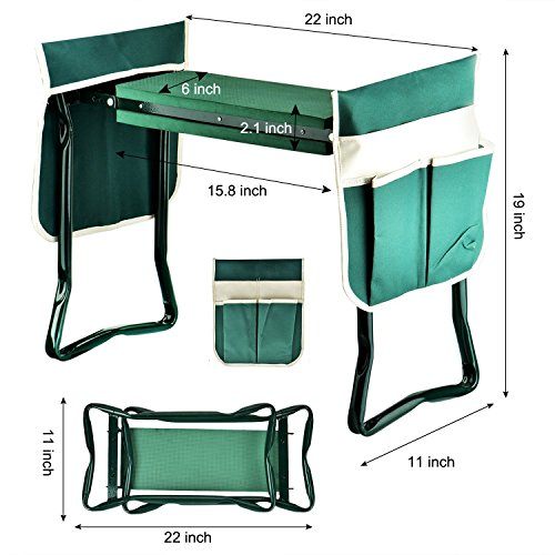 Garden-Kneeler-SeatGYMAN-Sturdy-and-Lightweight-Garden-Folding-Bench-Stool-with-EVA-Kneeling-Pad-and-Tool-Pouch-0-2