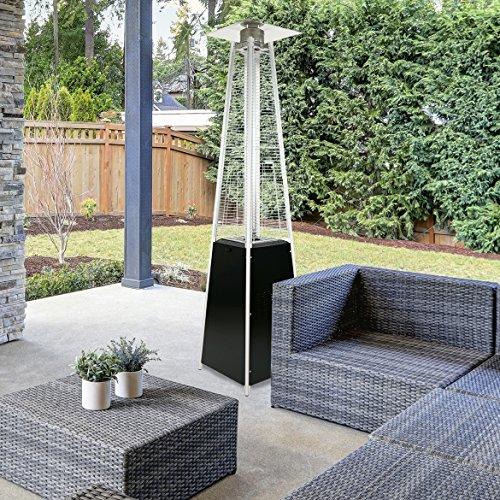 Garden-Radiance-GRP3500BK-Dancing-Flames-Black-Pyramid-Outdoor-Patio-Heater-0