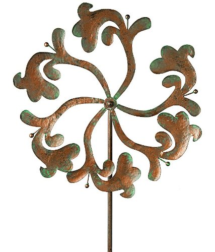 Gardman-8438-Hayward-Wind-Spinner-Border-Stake-63-High-x-20-Wide-0
