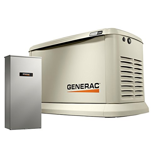 Generac-70432-Home-Standby-Generator-Guardian-Series-22kW195kW-Air-Cooled-with-Wi-Fi-and-Transfer-Switch-Aluminum-0