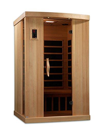 Golden-Designs-AMZ-GDI-6254-01-Ultra-Low-EMF-Messina-2-Person-Far-Infrared-Sauna-0-1